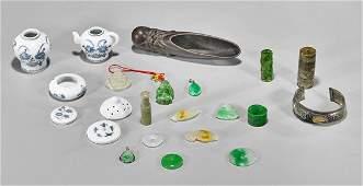 Twenty Chinese Items: Pendants & Minis