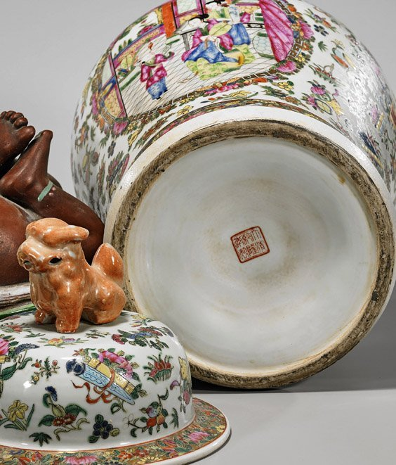 Three Large Chinese Porcelains - 2