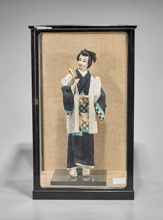 Japanese Hakata Doll of a Standing Woman