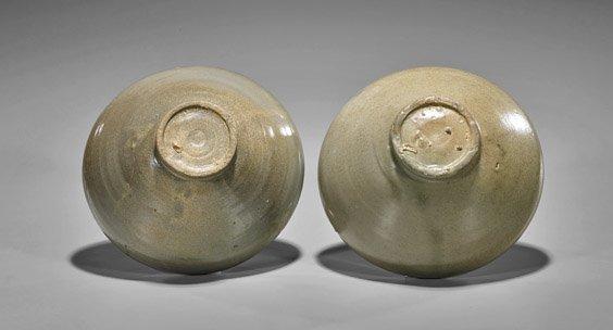 Two Koryo Dynasty Celadon Glazed Bowls - 2