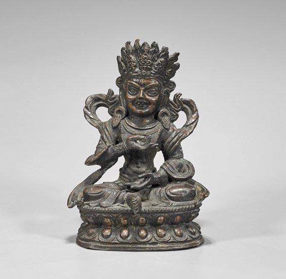 Heavy Sino-Tibetan Bronze Mahakala