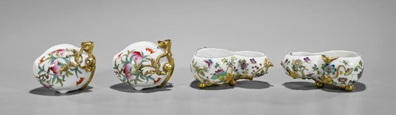 Four Chinese Scholar Items: Waterdroppers &