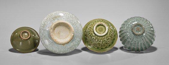 Four Early-Style Chinese Glazed Ceramics - 2