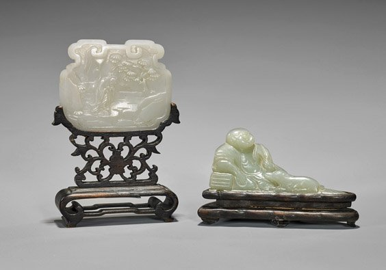 Two Antique Chinese Carved Jades