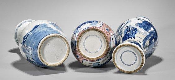 Three Kangxi-Style Porcelain Vases - 2