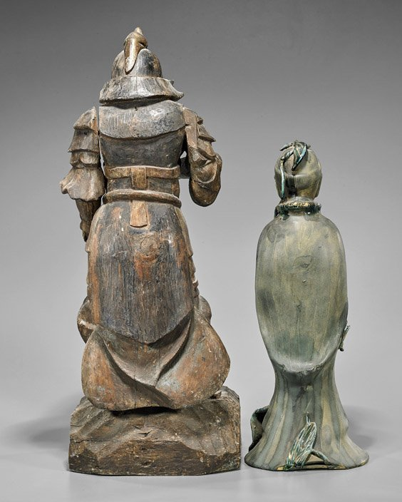 Two Standing Figures: Lady & Warrior - 2