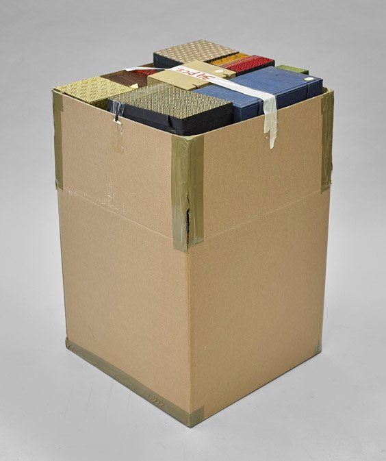 Thirty-Four Cloth Fitted Boxes