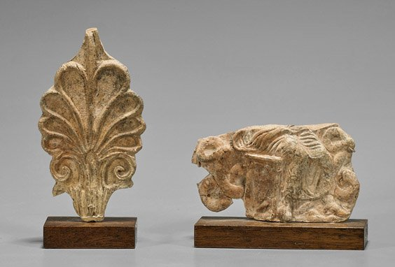 Two Small Campanian Relief Fragments