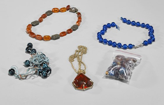 Group of Various Bead Jewelry Items