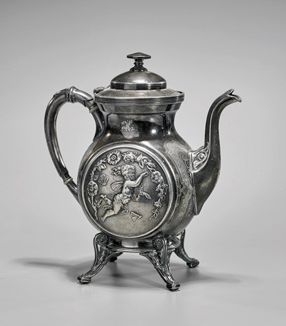Antique Reed & Barton Silverplated Teapot