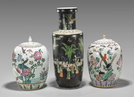 Three Old & Antique Chinese Porcelain Vases - 2