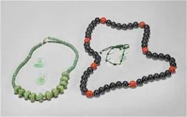 Five Chinese Jewelries: Pendants, Necklaces & Bracelet
