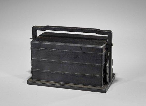Chinese Wood Three-Tiered Stacking Box - 2