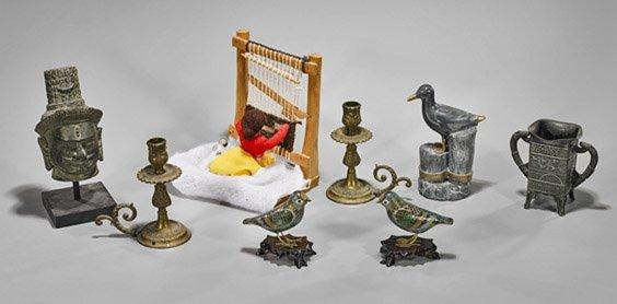 Eight Various Decorative Items