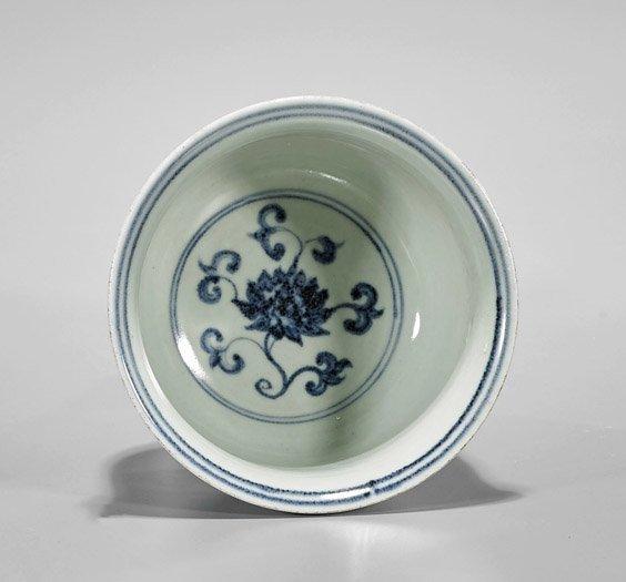 Three Ming-Style Blue & White Porcelains - 2