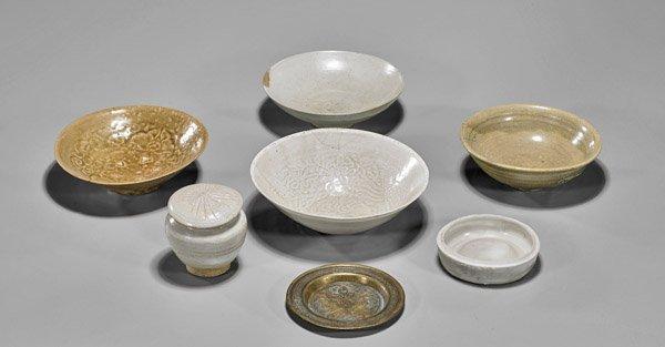 Six Song Glazed Ceramics: Yingqing & Celadon