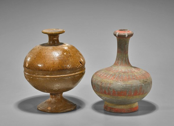 Two Chinese Pottery Vessels