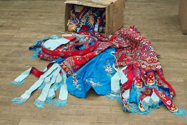 Twenty Chinese Silk Embriodied Clothes