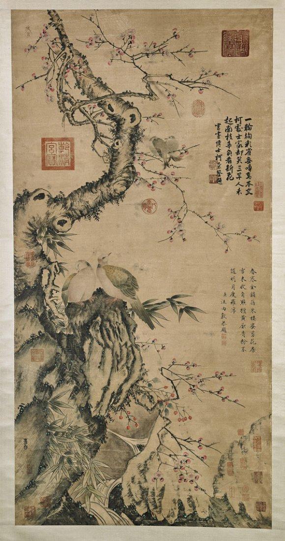 Three Chinese Paper Scrolls