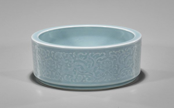 Qianglong-Style Clair de Lune Moulded Basin