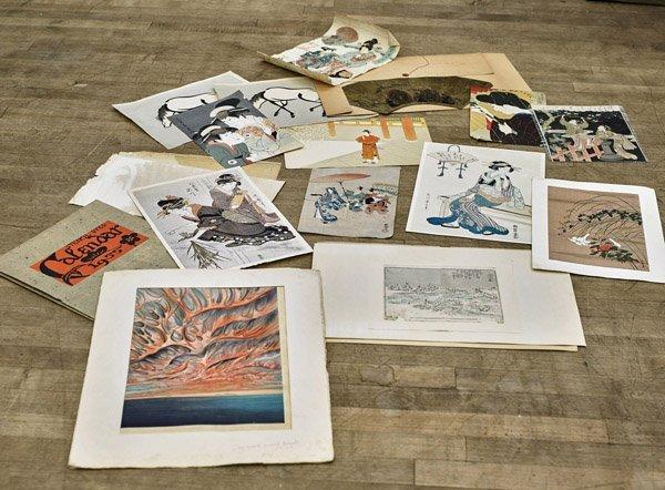 Nineteen Japanese Woodblock Prints