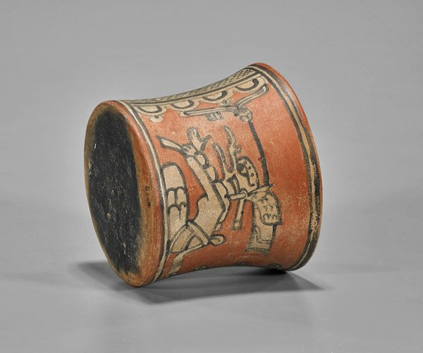 Pre-Columbian Painted Pottery Vessel - 2
