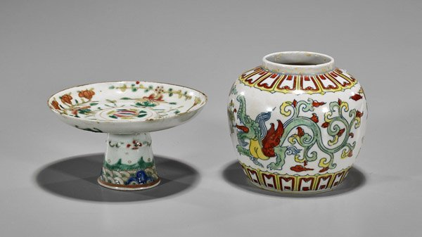 Two Small Chinese Porcelains