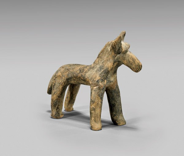 GREEK ISLAND TERRACOTTA HORSE