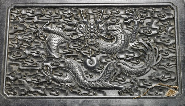 CARVED ZITAN WOOD BOX - 2