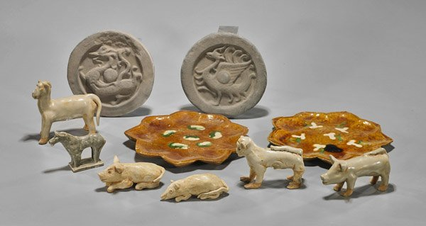 Ten Early-Style Chinese Ceramics