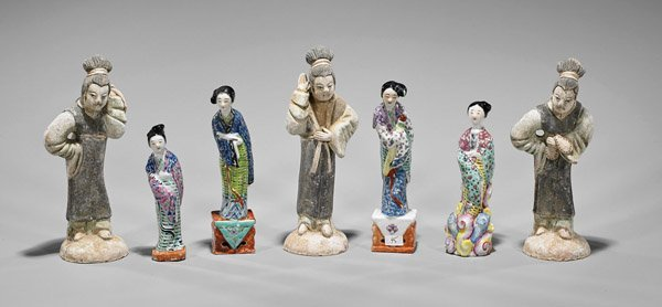 Seven Chinese Ladies: Porcelain & Pottery