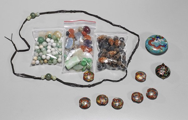 Large Collection of Various Beads