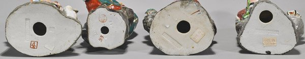 Four Chinese Enameled Porcelain Figures - 2