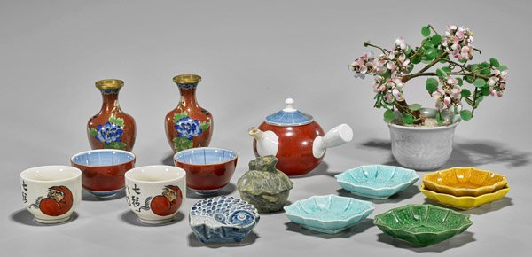 Group of Fifteen Various Asian Items
