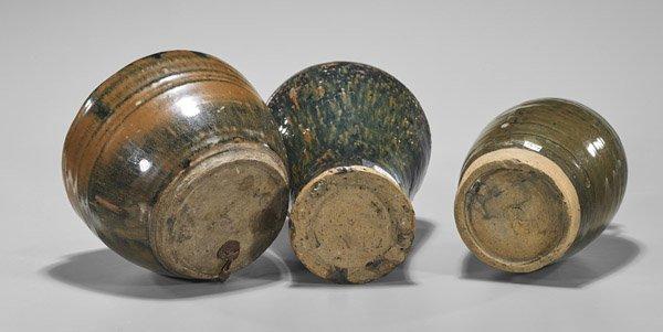 Three Jin Dynasty Henan Glazed Vessels - 2