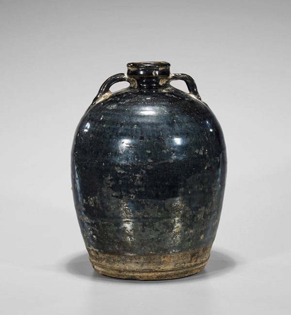 Jin Dynasty Henan Stoneware Jar