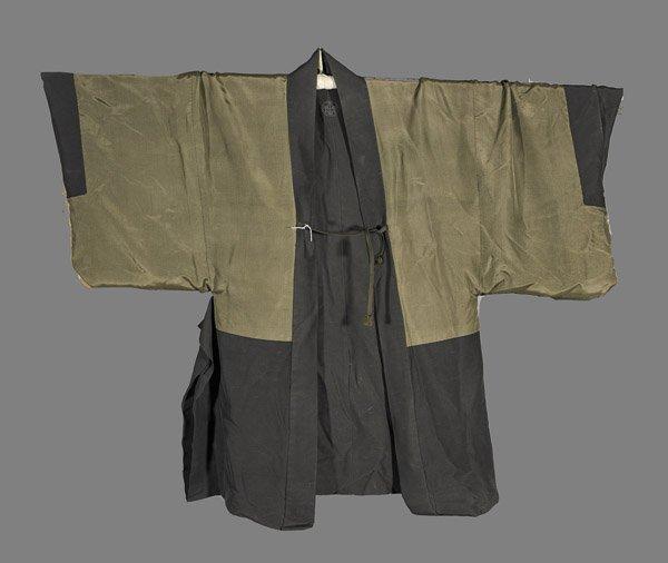 Men's Japanese Silk Short Robe