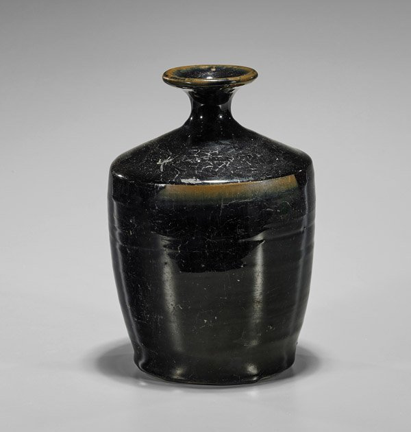 Jin Dynasty Henan Glazed Black Jar