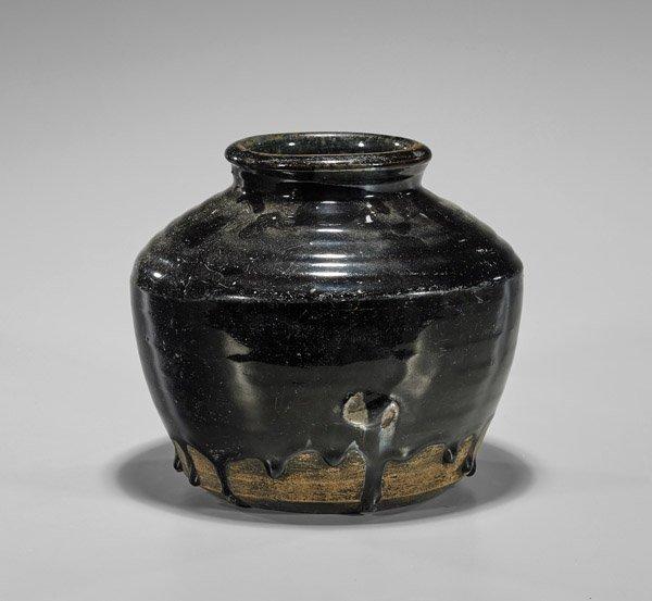 Jin Dynasty Henan Glazed Jar