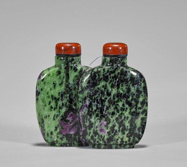 Ruby Zoisite Double Snuff Bottle - 2