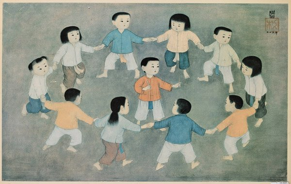 Three Vietnamese Prints: Mai Thu
