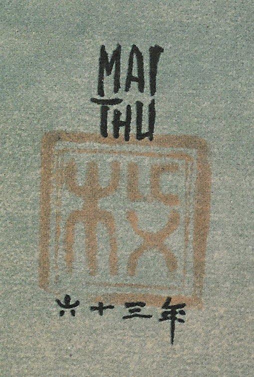 Three Vietnamese Prints: Mai Thu - 2