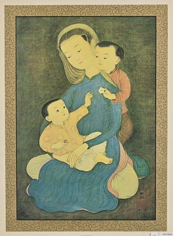 Three Vietnamese Prints: Mai Thu - 3