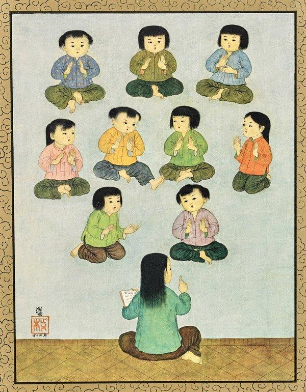 Three Vietnamese Prints: Mai Thu - 5