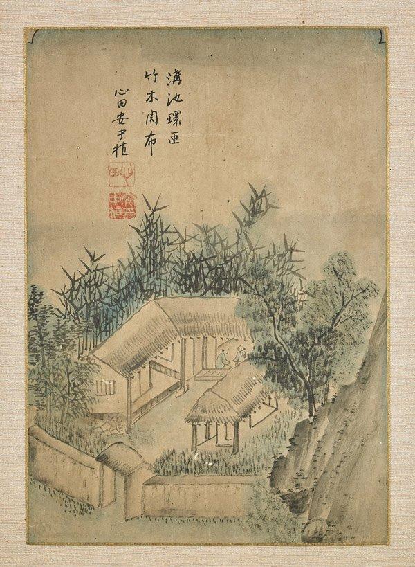 Two Old Korean Paintings: Rural Scenes