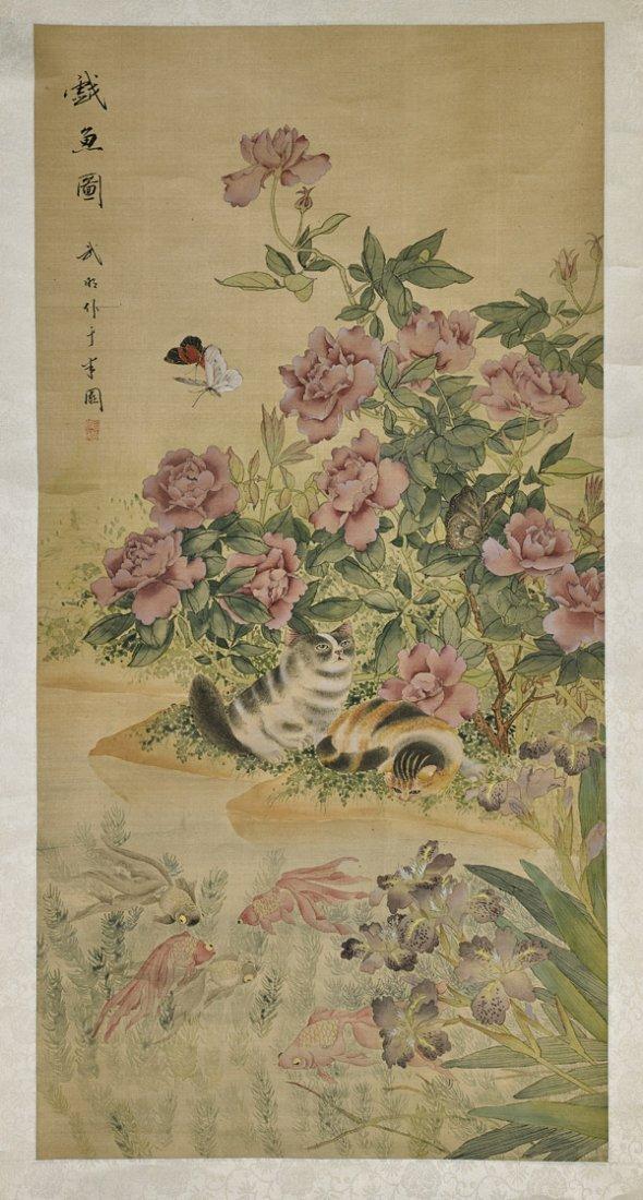 Three Various Chinese Scrolls - 3