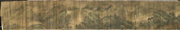 Chinese Paper Unmounted Handscroll: after Yi Mong