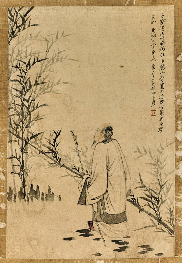 Six Chinese Paper Unmounted Paintings