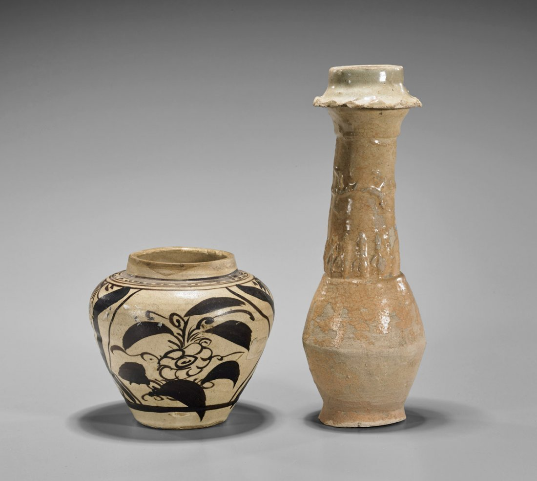 Two Early Chinese Pottery Vessels
