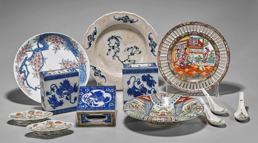 Twelve Chinese & Japanese Porcelains